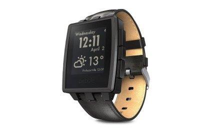 Pebble Steel es un smartwatch de tinta digital