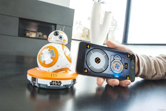 robot bb-8 Star Wars 3