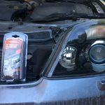 Pulir los faros del coche en casa con acabado profesional