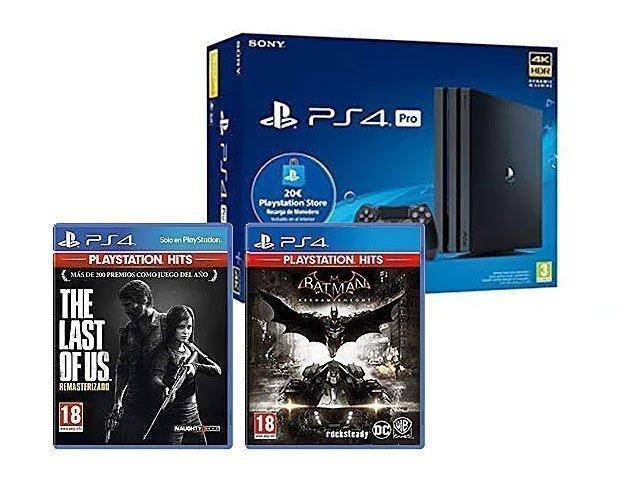 Pack PS4 + 2 juegos