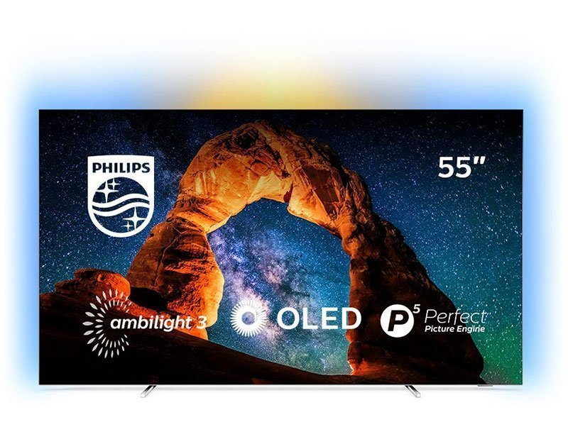 Televisor PHILIPS Ambilight 4k – 55OLED803