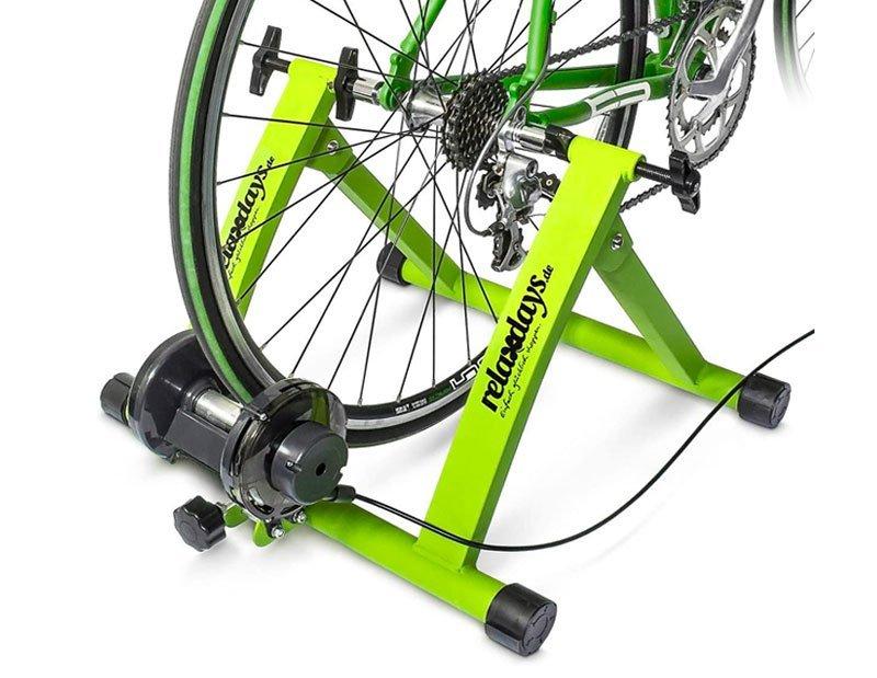 Rodillo de bicicleta para entrenamiento en casa