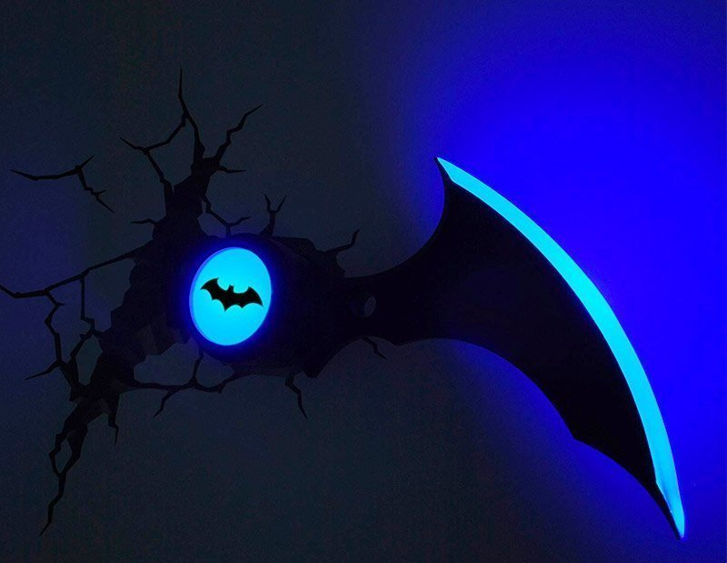 Decoración Luz Batman