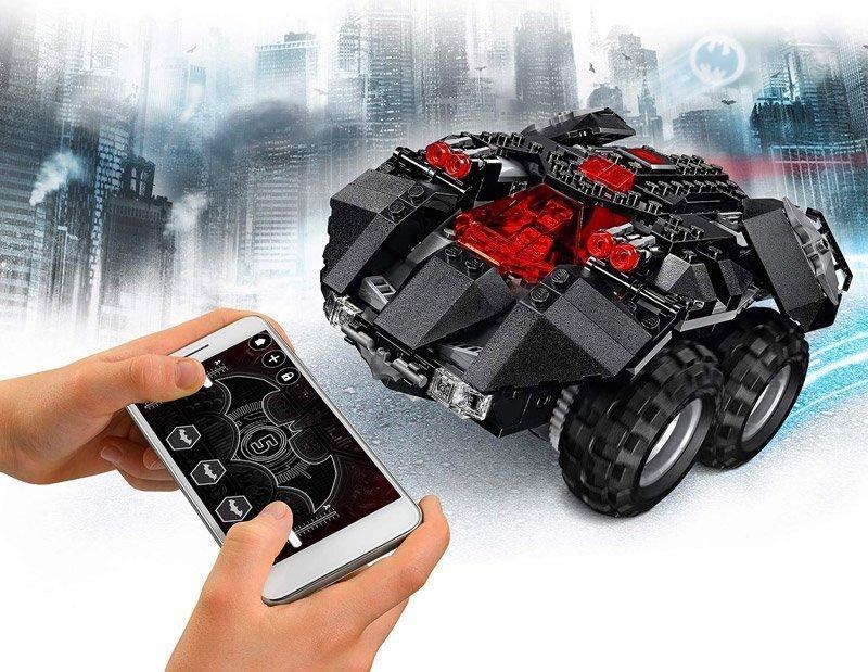 Coche teledirigido de Lego Batman
