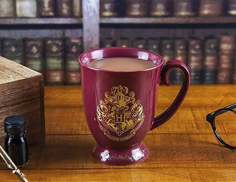 Taza de desayuno «HOGWARTS» de Harry Potter