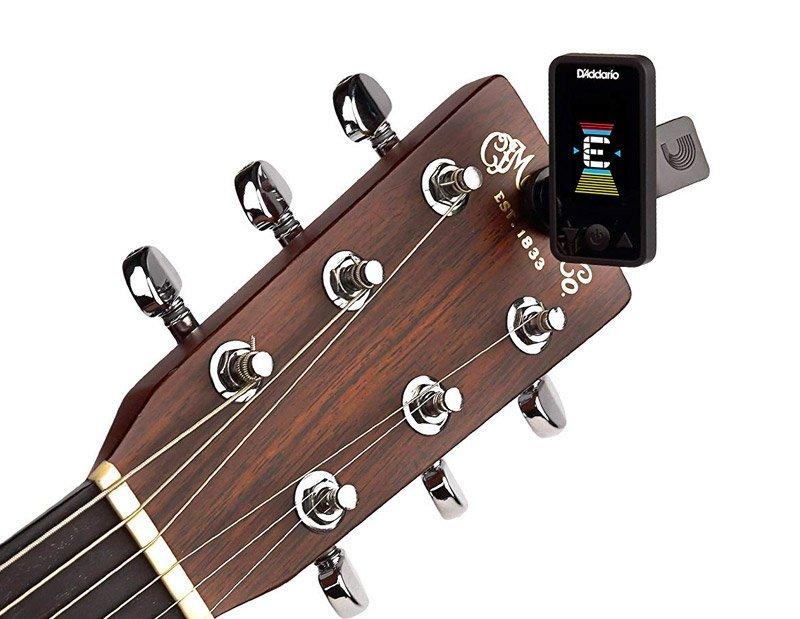 Afinador de guitarra electrónico