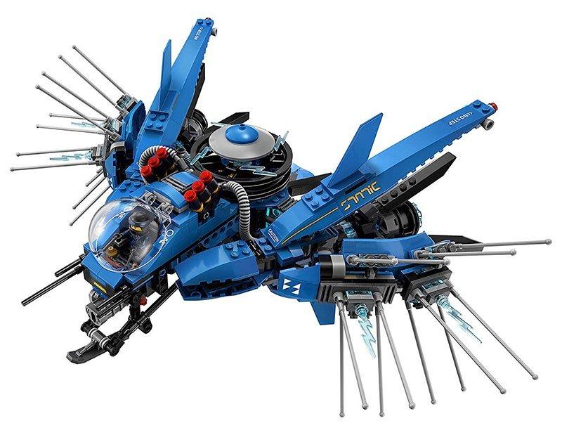 Lego Ninjago JET del Rayo