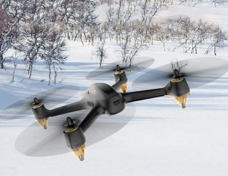 Drone con GPS y cámara 1080 HD – HUBSAN H501S