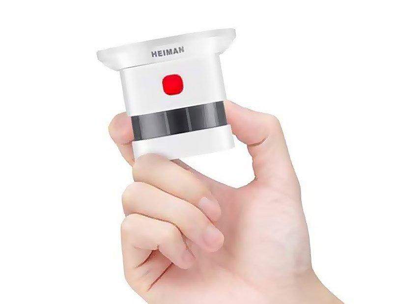 Mini detector y alarma de humo HEIMAN