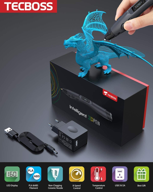 Dragón con lápiz 3D