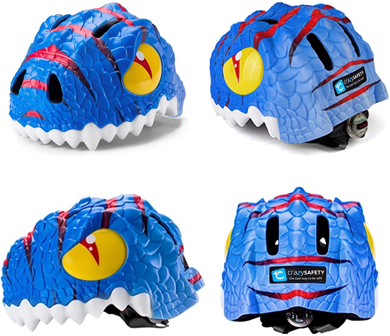 casco dinosaurio vistas