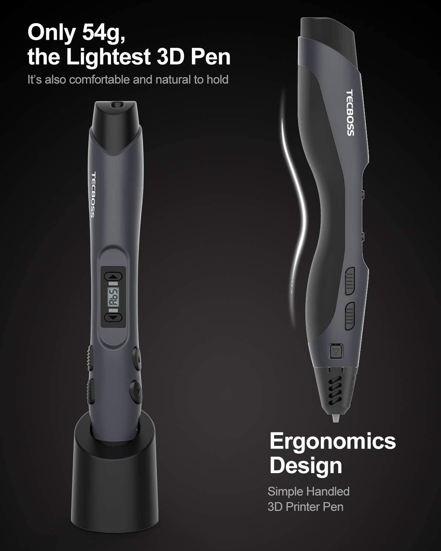Pluma recargable de impresión 3D