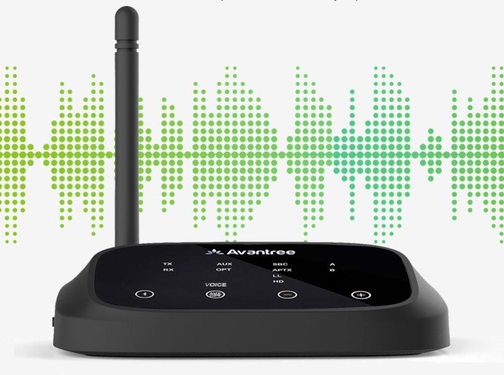 Adaptador de audio digital a Bluetooth para Smart TV